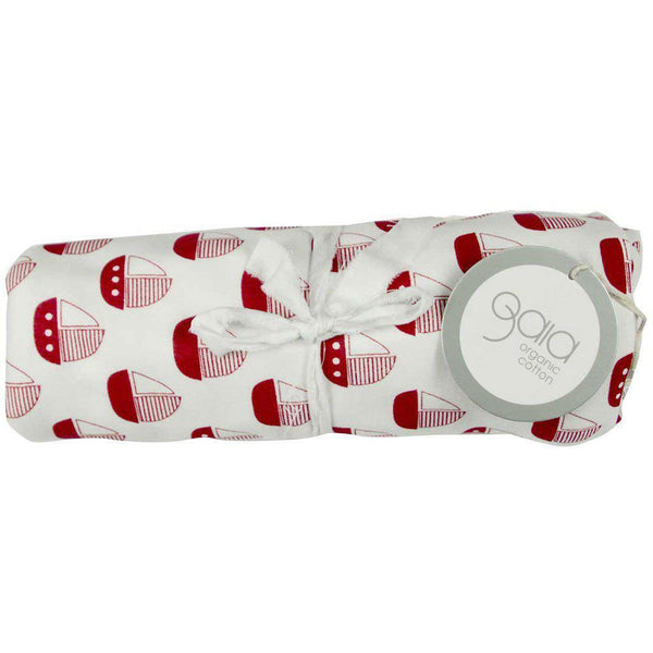 Gaia - Organic Cotton - Wrap - Red Boat Wrap Gaia Organic Cotton