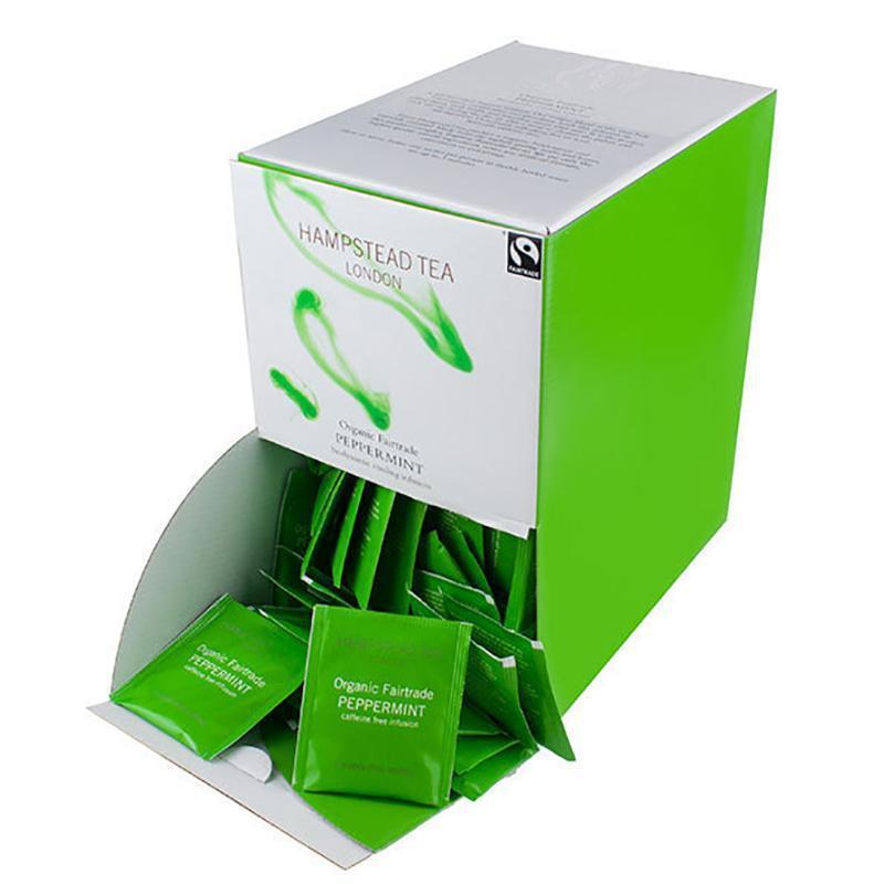 Hampstead Tea | Organic Infusion | 5 or 10 Sachets | Mindful Peppermint & Spearmint Tea Hampstead Tea