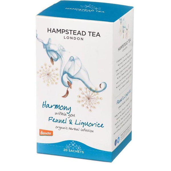 Harmony Within You | Organic Herbal Infusion | Fennel & Liquorice | 20 Sachets Tea Hampstead Tea