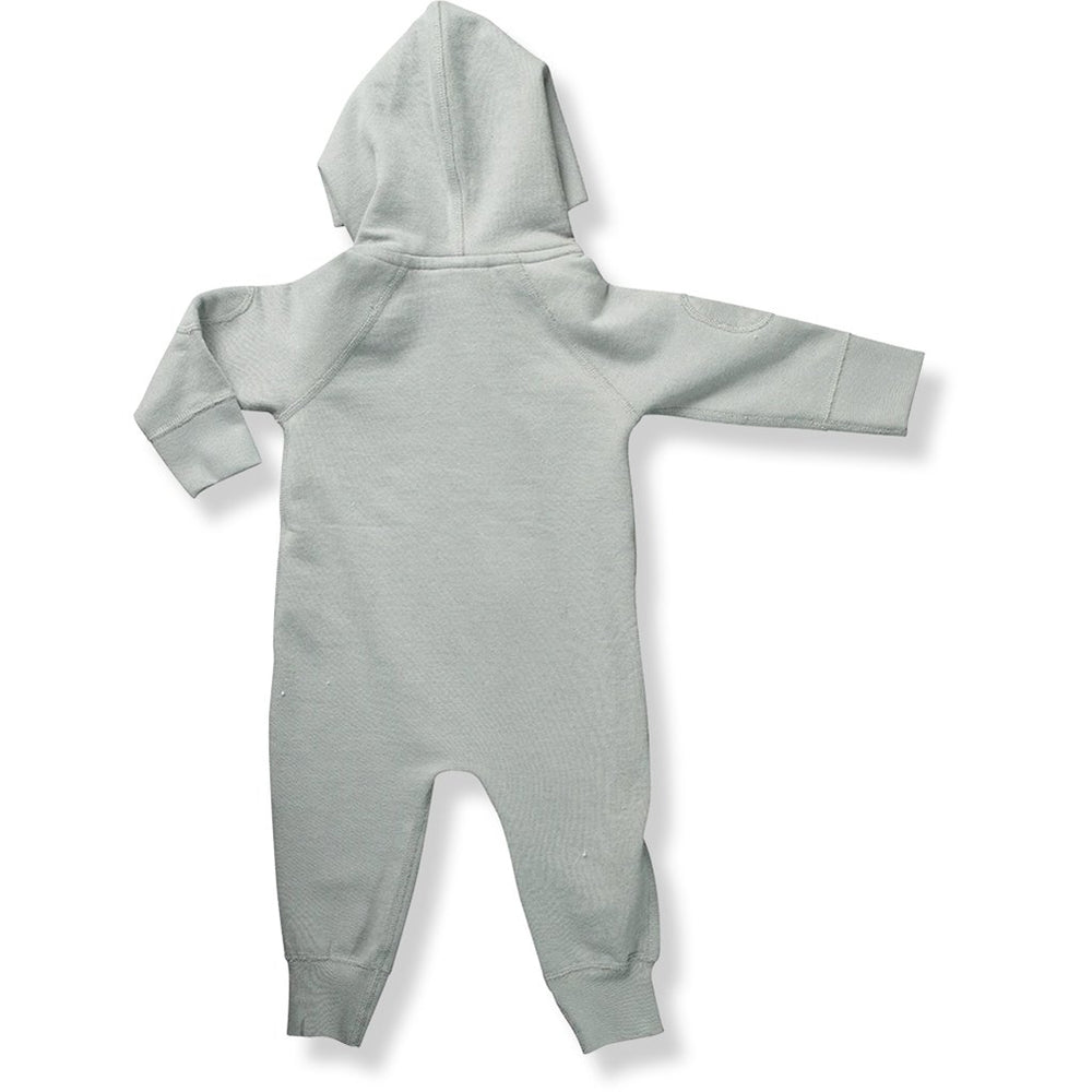 Sapling Winter Zip Romper Rear grey