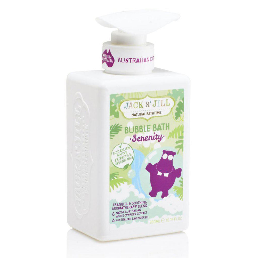 Jack'n'Jill | Natural Bathtime | Organic Oils | Bubble Bath | Serenity | 300mL Bubble Bath Jack'n'Jill
