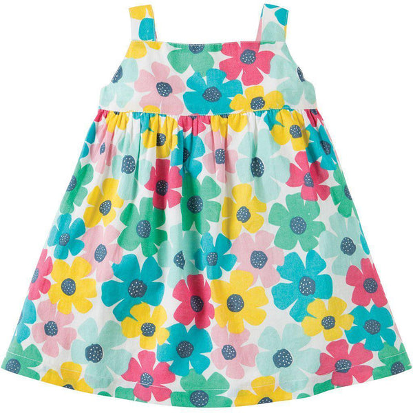 Jess Party Dress | Organic Cotton | Spotty Poppy Dress Frugi