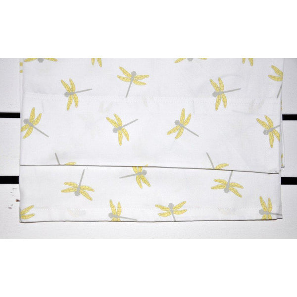 Jimmy Puffin - Organic Cotton - Bassinet Sheet Set - Dragonfly Dance - 2 colours Bedding Jimmy Puffin