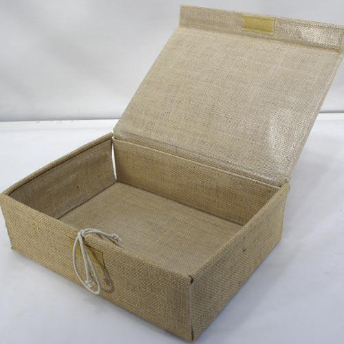 Jute Hamper with Lid Hamper Barama