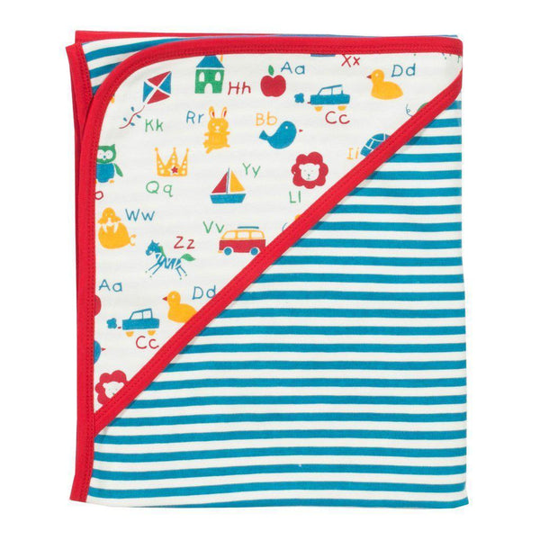 Kite | Organic Cotton | Blanket | ABC | Red Blanket Kite