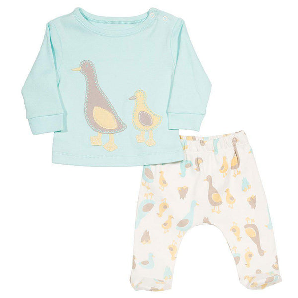 Kite - Organic Cotton - Duckling Set Outfit Kite