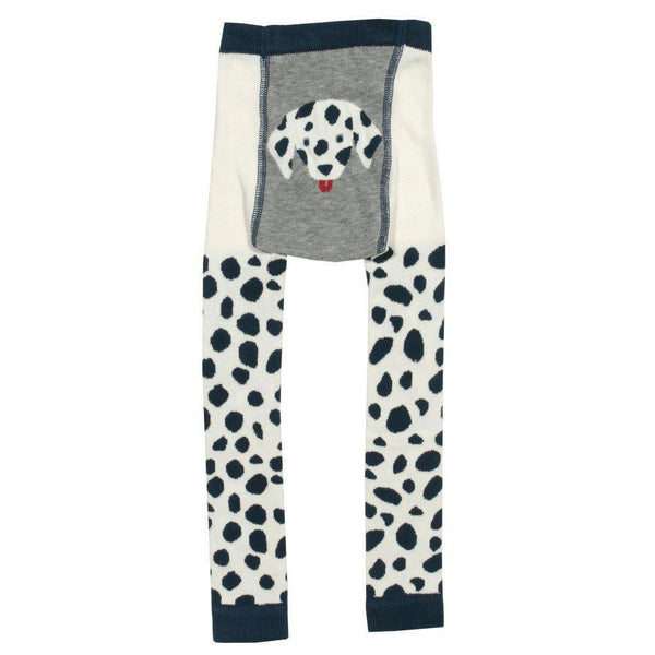 Kite | Organic Cotton | Knitted Leggings | Dalmation Leggings Kite