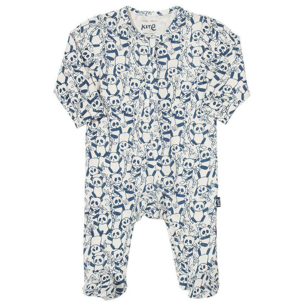 Kite | Organic Cotton | Zippy Sleepsuit | Panda Growsuit Kite