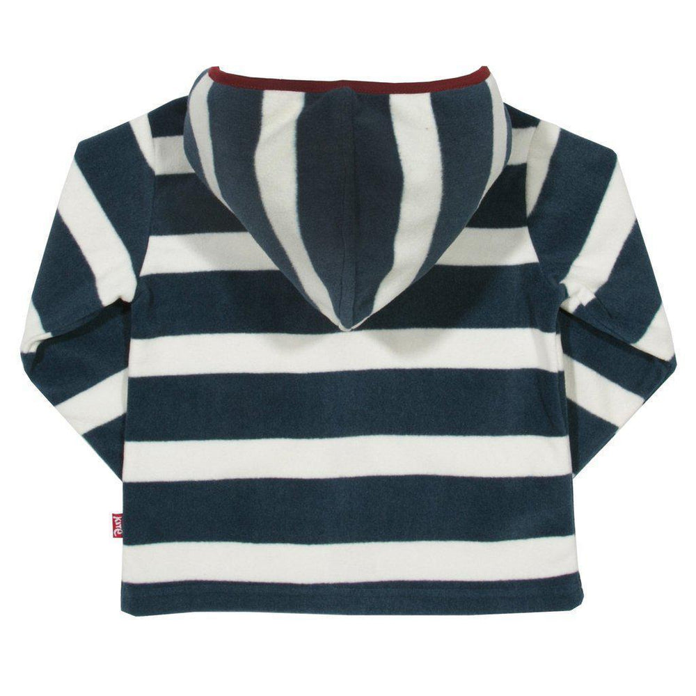 Kite | Partly Recycled Polyester | Zip Fleece | Stripy Jumper Kite
