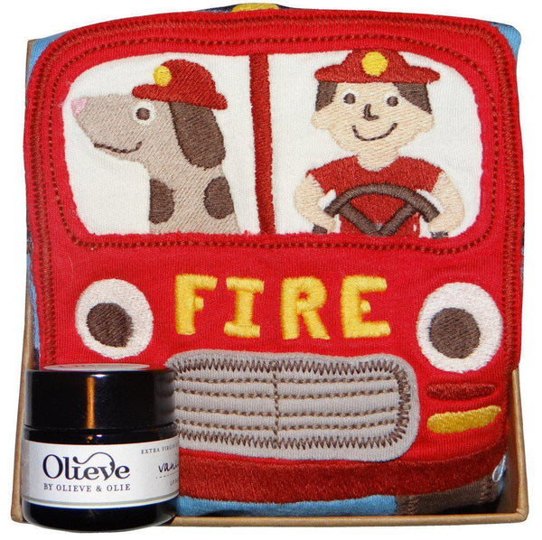 Little Fire Engine - Organic - Mum and Baby Gift Box Gift Box Baby Gift Works