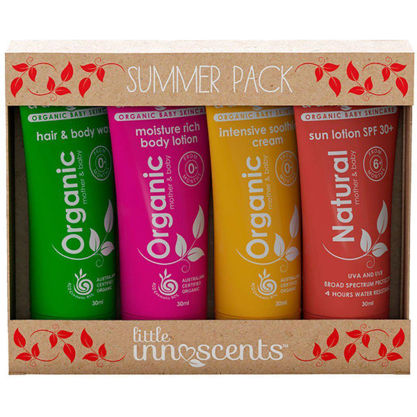 Little Innoscents | Organic & Natural | Travel Pack | Summer Skin Care Little Innoscents