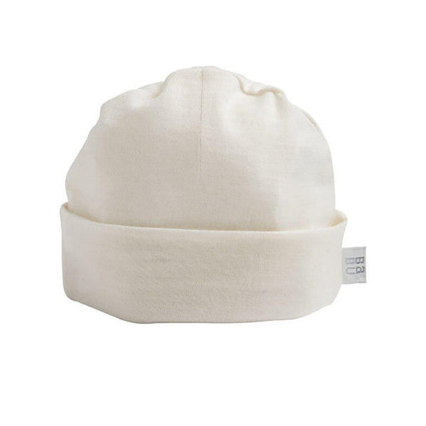 Merino - Superwash - Beanie Hat - Cream, Grey, Pink, Navy or Green Hat Babu Cream Newborn