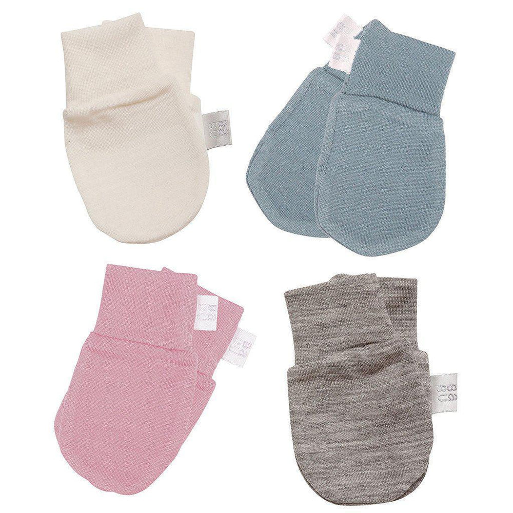 Merino - Extra Fine - Superwash - Scratch Mittens - Cream, Grey, Pink, Navy or Green Mittens Babu