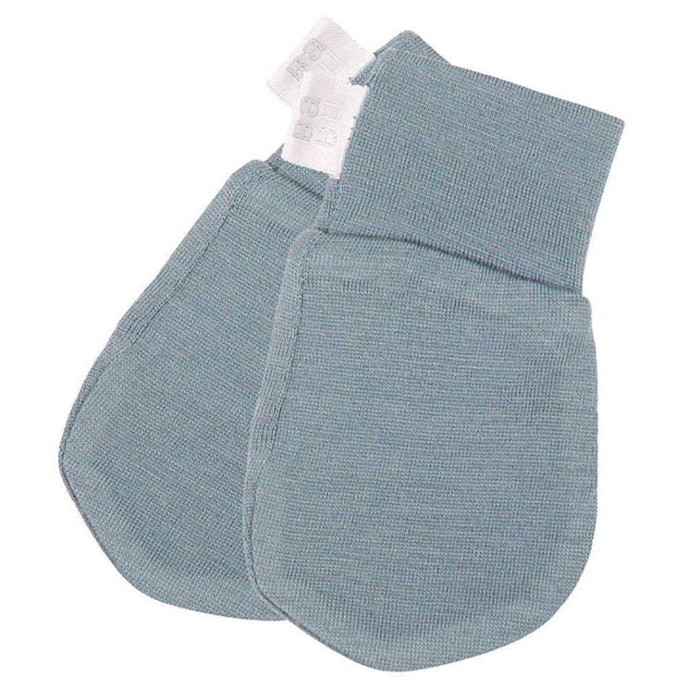 Merino - Extra Fine - Superwash - Scratch Mittens - Cream, Grey, Pink, Navy or Green Mittens Babu Green
