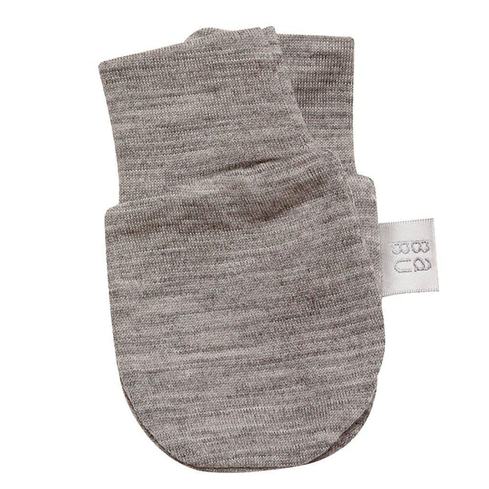 Merino - Extra Fine - Superwash - Scratch Mittens - Cream, Grey, Pink, Navy or Green Mittens Babu Grey