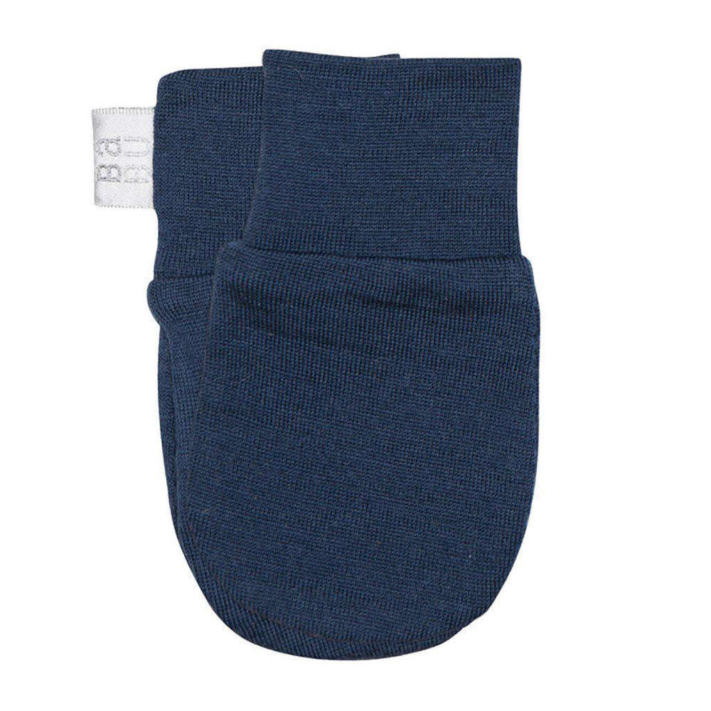 Merino - Extra Fine - Superwash - Scratch Mittens - Cream, Grey, Pink, Navy or Green Mittens Babu Navy