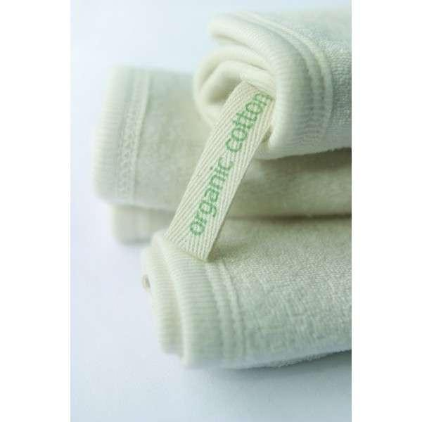 Natures Child - Organic Cotton - Face Wipes - 2 Pack Wash Cloths Natures Child