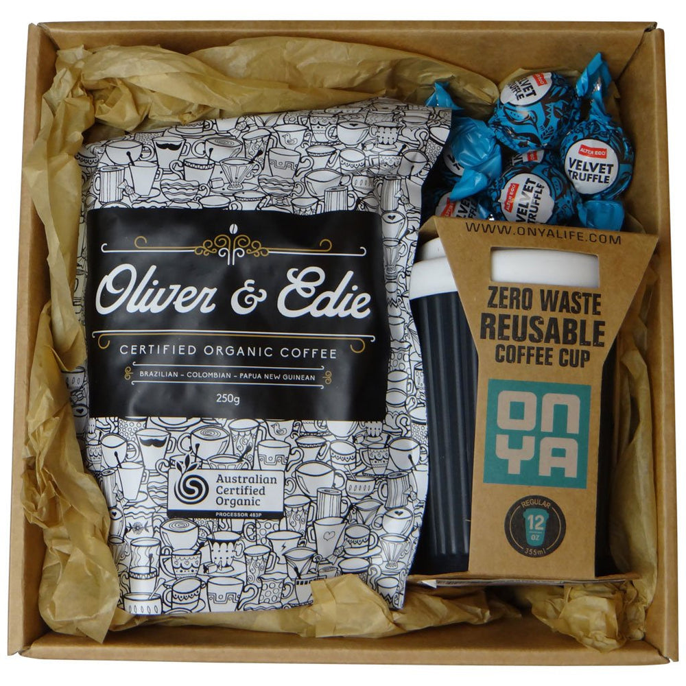 New Parent | Organic Gift Box | The Essentials Coffee Baby Gift Works