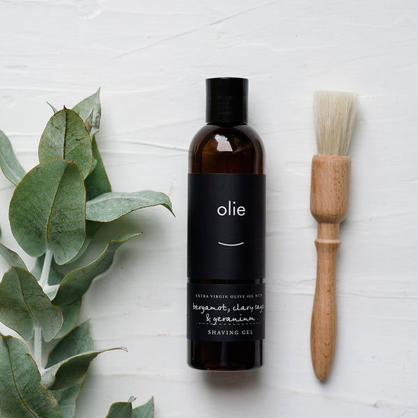 Olieve & Olie | All Natural | Australian-made | Shave Gel Dad Olieve & Olie