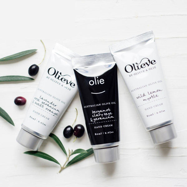 Olieve & Olie | All Natural | Handcrafted | Hand Cream | 3 Amazing Fragrances Skin Care Olieve & Olie