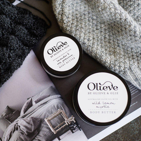 Olieve & Olie - Natural & Organic - Body Butters - 3 Lushious Scents Skin Care Olieve & Olie 100mL Lavender & Rose Geranium