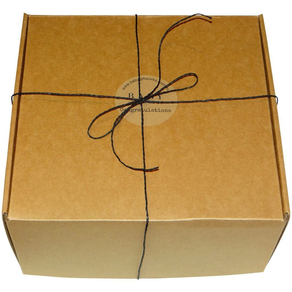 Premium Quality | Recycled Fibre | Natural Gift Box | Create Your Own Gift Box Baby Gift Works