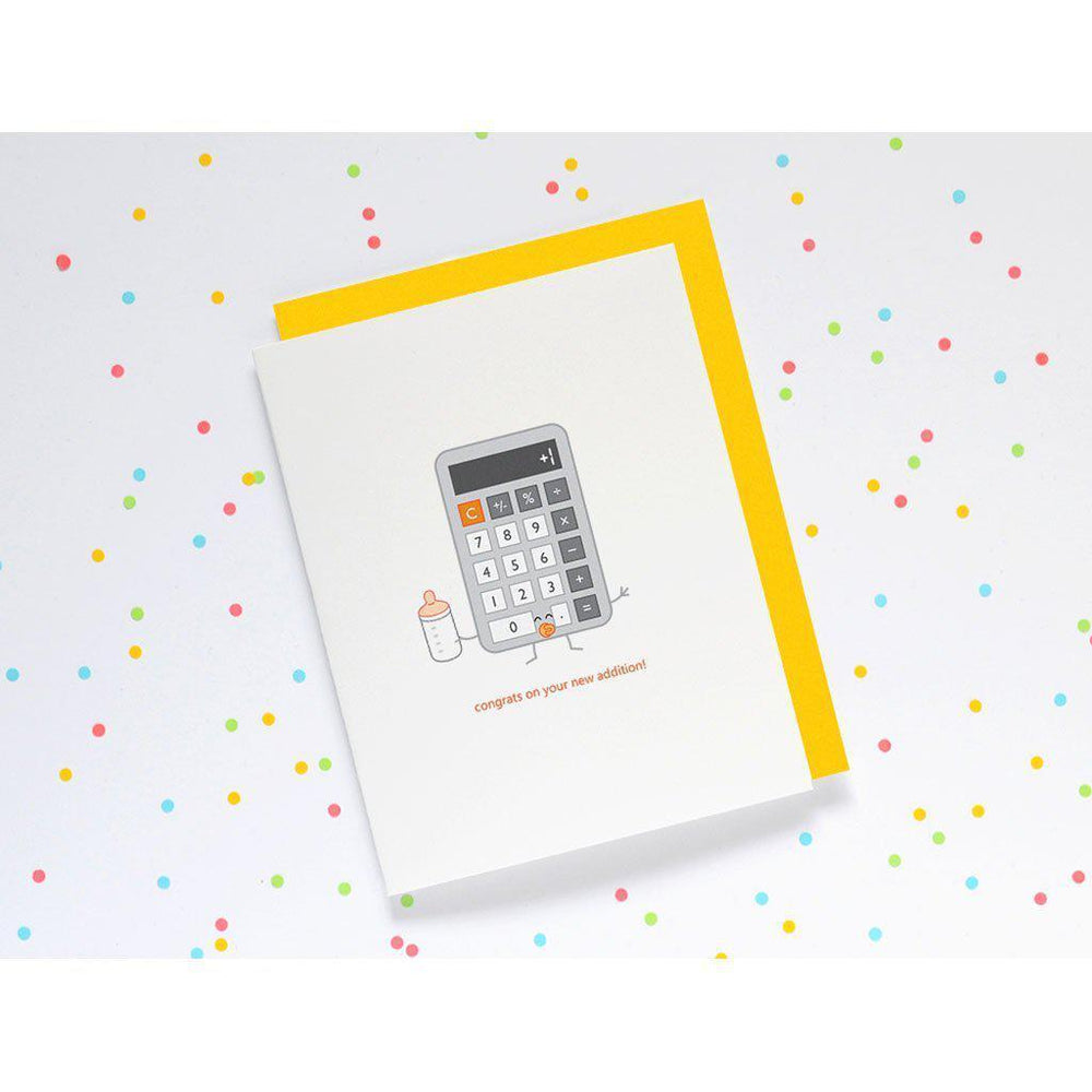 Queenies Cards | Eco-friendly | Greeting Card | Congratulations | Calculator Card Queenies Cards