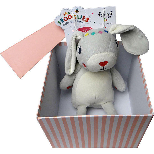 Radish the Rabbit | Organic Cotton Toy in a Gift Box Gift Box Acure