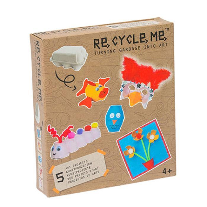 Recycle Me | Turning Garbage into Art | Egg Carton | Girl | Age 4+ Sibling Gift Recycle Me