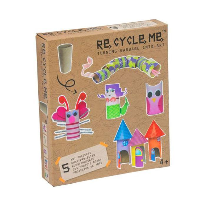 Re,Cycle,Me | Turning Garbage into Art | Toilet Roll | Ages 4+ Sibling Gift Recycle Me