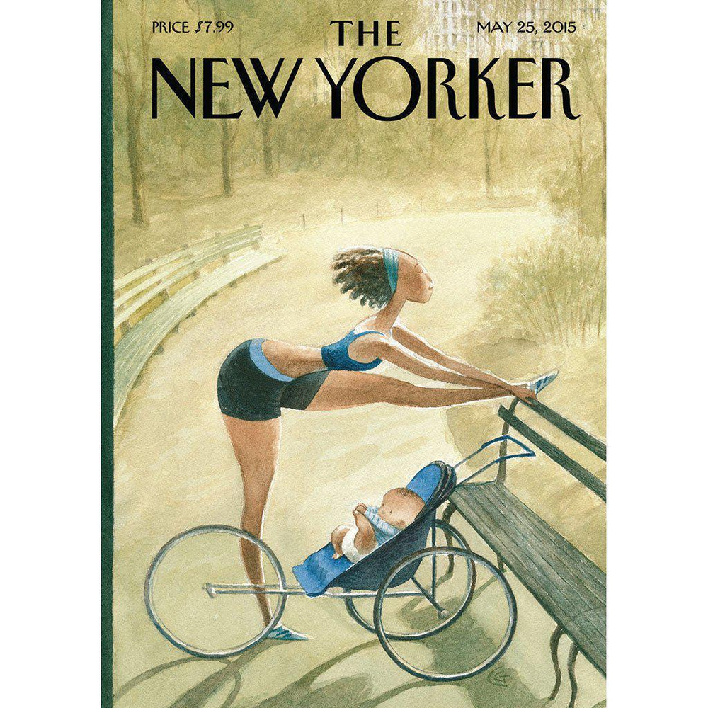 The New Yorker | Eco-friendly | Greeting Card | Pre Run Stretch Card The New Yorker