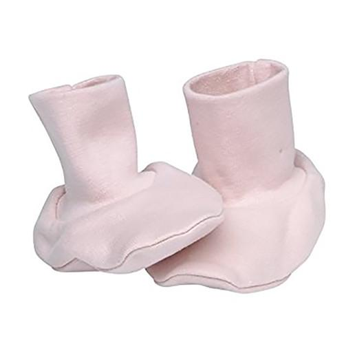 Under the Nile - Organic Cotton - Baby Booties - Pink Booties Under the Nile