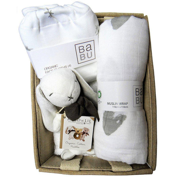 Welcome Baby - Organic Cotton - Baby Hamper