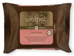 Wotnot - Natural/Organic - Facial Wipes with Travel Case and Mirror - normal/sensitive skin Skin Care Wotnot