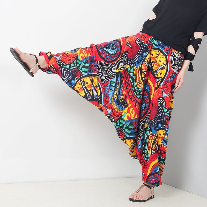 Bohemian wind haul pants