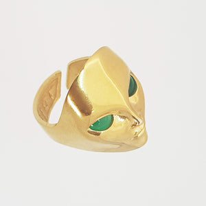 Goldfilled Alien Ring