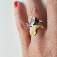 Load image into Gallery viewer, Ying Yang Two-piece ring