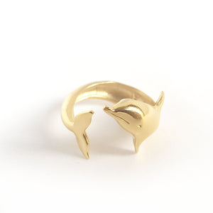 Dolphin Golden  Ring
