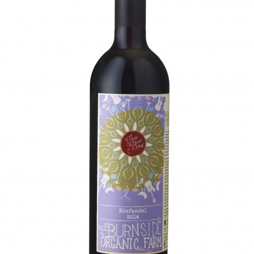 BURNSIDE ORGANIC FARM THREE BOYS ZINFANDEL 2014