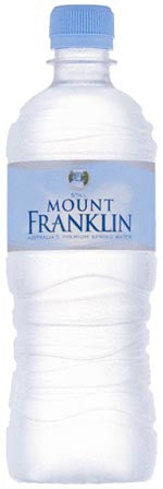 MOUNT FRANKLIN WATER 600ML