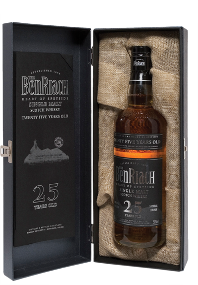 BENRIACH 25 YR OLD SPEYSIDE SINGLE MALT