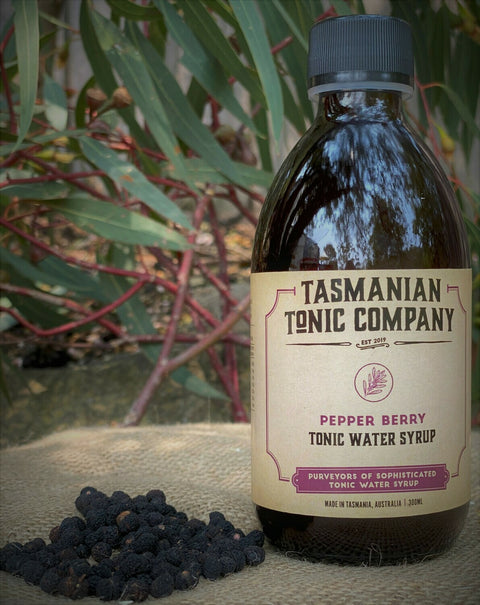 TASMANIAN TONIC COMAPNY PEPPERBERRY TONIC SYRUP 300ML
