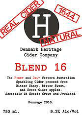 DENMARK HERITAGE CIDER CO 1644 DRY 750ML