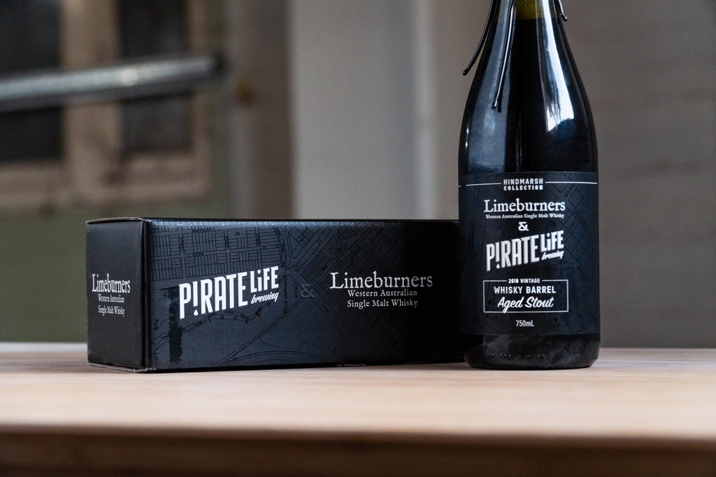 PIRATE LIFE X LIMEBURNERS BARREL AGED STOUT 750ML