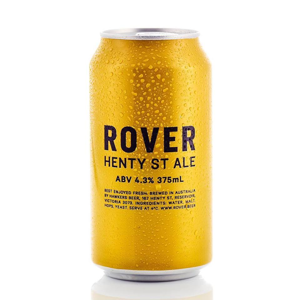 HAWKERS ROVER HENTY ST ALE 375ML X 24