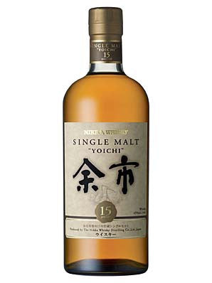 NIKKA YOICHI 15 YEAR OLD JAPANESE SINGLE MALT