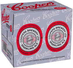 COOPERS SPARKLING ALE 750ML X 12
