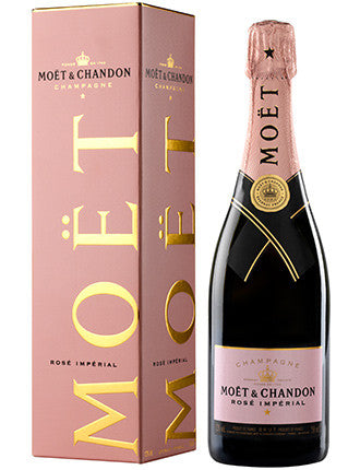 MOET & CHANDON ROSE IMPERIAL NON VINTAGE