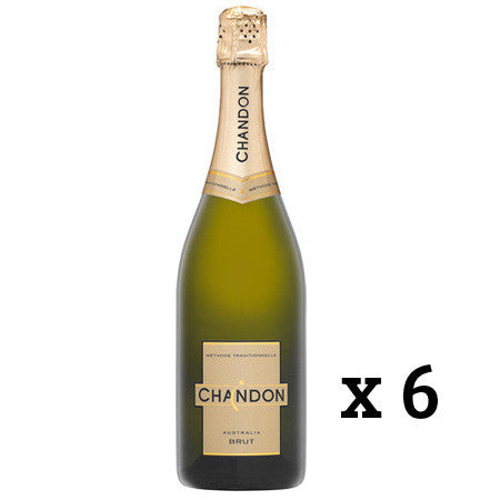CHANDON BRUT NV SPARKLING X 6 BOTTLES
