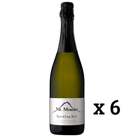 MT MONSTER SPARKLING BRUT X 6 BOTTLES